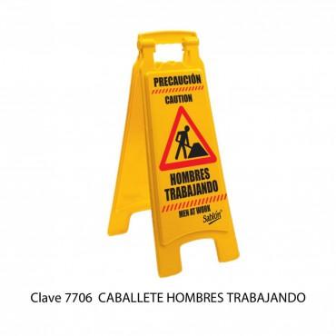 CABALLETE: HOMBRES TRABAJANDO