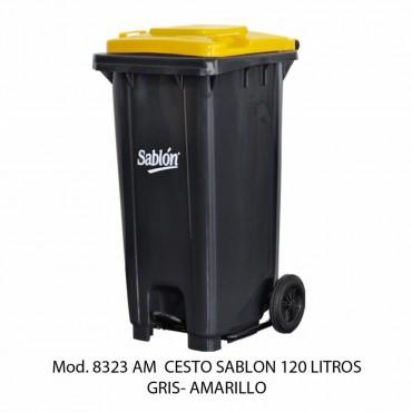 CESTO DE BASURA  CON RUEDAS