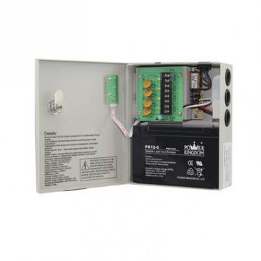 NUEVA VERSION Fuente de alimentación de 11.5 a 15 Vcd 4 A con capacidad de respaldo UL (Sobre pedido)