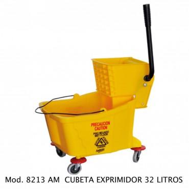 CUBETA EXPRIMIDORA 32 LTS