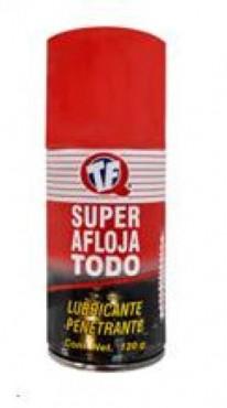 Súper Aflojatodo 120 g, rápida para aflojar la oxidación, grasa y mugre