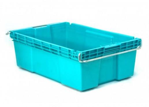 Caja Plástica  Otawa Enfilable de 20, Capacidad: 25 kg.