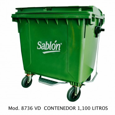 Contenedores para basura de 1100 litros