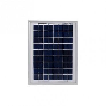 Módulo Fotovoltaico Policristalino 10 Watts para sistema a 12 Volts