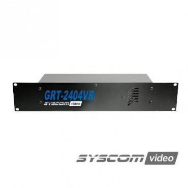 Fuente de poder para CCTV con montaje en rack 19