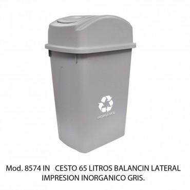 Bote de basura de 65 litros GRANDE