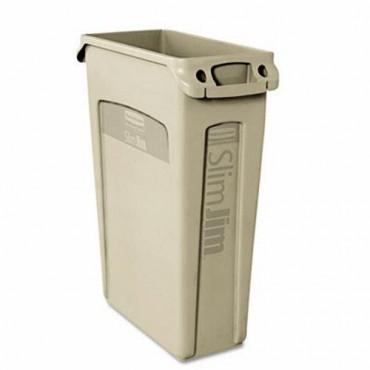 Contenedor Slim Jim® con canales de ventilación