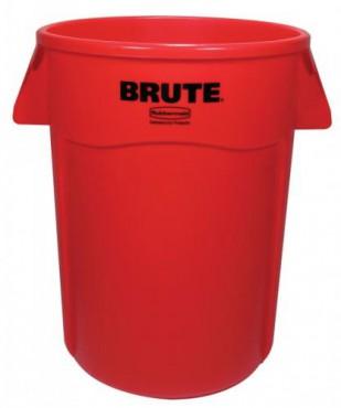 Brute bote Rubbermaid para basura sin tapa de 208 L