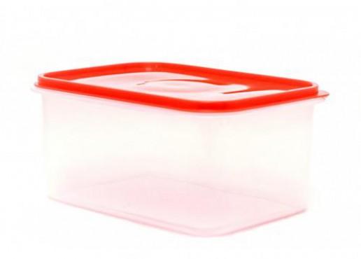 Caja de Plastico Transparente No. 4 Con Tapa De 10 KG