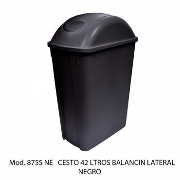 Bote de Basura Mediano  42 litros  Color Negro