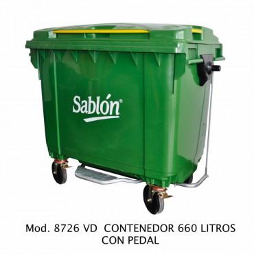 Contenedores para basura de 660