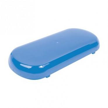 Mini Barra de luces con 24 LED, Color Azul y Montaje de Succión e Imán