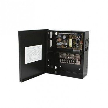 Fuente de poder para CCTV de 4 salidas a 12 Vcd. 5.2 Amp (Bajo pedido)