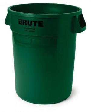 Bote para basura de plastico brute 208 L,