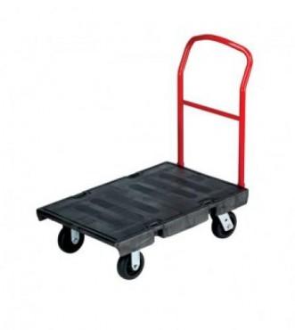 Carro de plataforma con ruedas para trabajo pesado