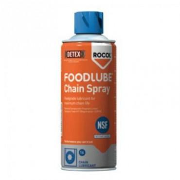 Lubricante de cadenas y cintas transportadoras, de grado alimenticio, spray 400