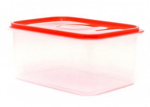 Caja De Plástico Transparente Con Tapa Hermética , Jumbo No. 6 De 14 Kg