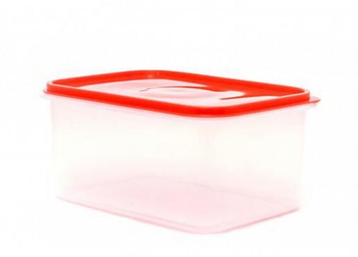 Caja De Plástico Con Tapa Hermética, Jumbo No. 3 De 9kg