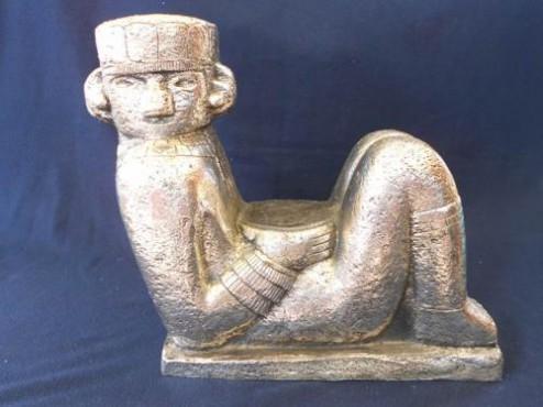Chacmol Grande, figuras prehispanicas, reflejados en los guerreros aztecas