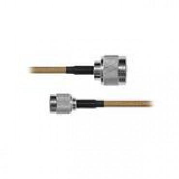Cable RG142, con conductores N Macho / TNC Macho de 60 cm.