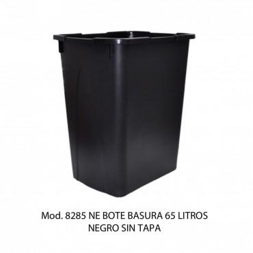Bote de basura sin tapa