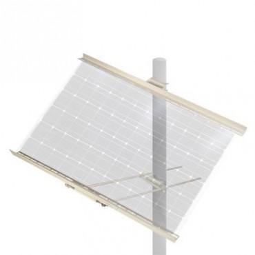 Montaje para poste para módulo WK5012 para 1 ó 2 módulos.