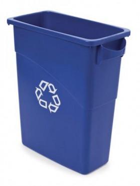 Contenedor Slim Jim® para reciclaje con asas