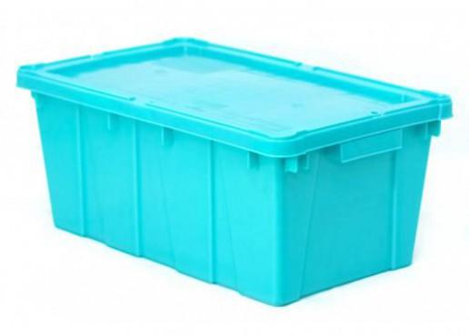 Caja Canadá con Tapa, Capacidad: 10 kg.