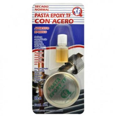 Pasta con Acero,adhiere,pegamento para metales y otros materiales
