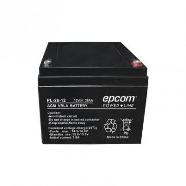 Batería con Tecnología AGM/VRLA, 26 Ah. 12 Vcd (Bajo pedido)