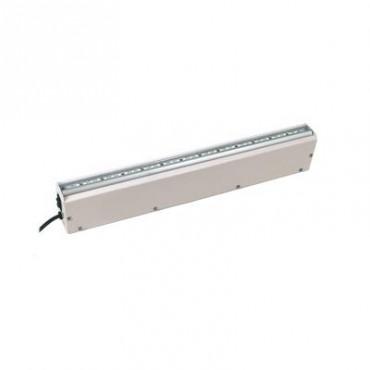 Lampara LED de Emergencia con Respaldo de 4 Horas con Función Dual Gabinete Metálico.