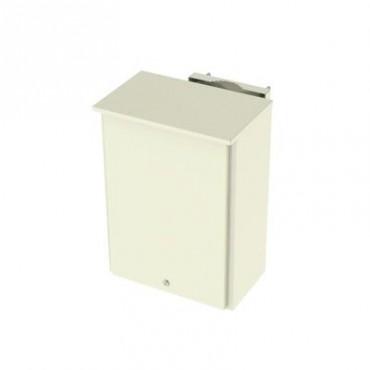 Gabinete de Lámina Galvanizada para 2 Baterías PL110D12 para Montaje en Poste.