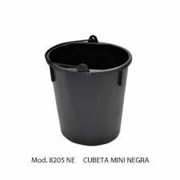 Cubeta negra mini de 3 litros