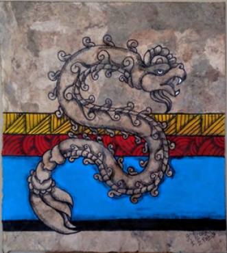 Quetzalcóatl, PADILLA BUSHI