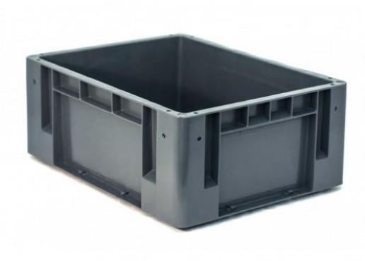 Caja Plástica Industrial No. 3, Capacidad: 25 kg.