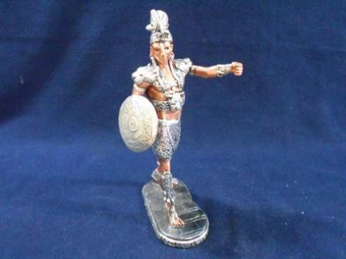 GUERRERO MAYA CHICO, artesanias figuras y escuturas mexicanas en bronce y plata
