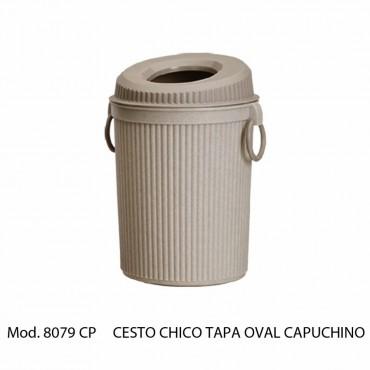 CESTO CHICO TAPA OVAL7 LITROS