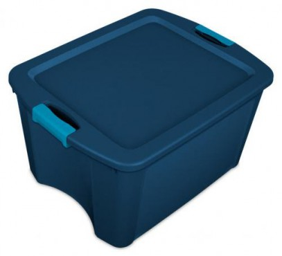 CAJA LATCH AND CARRY 18 GAL / 68 L, CAJA DE PLASTICO STERILITE