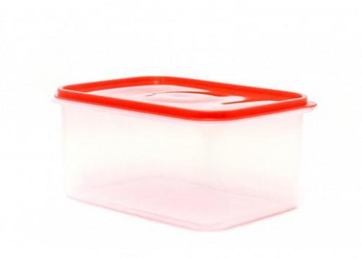 Caja Transparente Con Tapa HERMÉTICA, Jumbo No. 2 De 7 Kg.