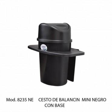 Bote de basura balancin mini con base
