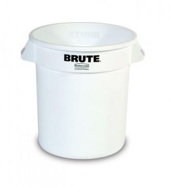 Contenedor para basura de plastico brute de 208 L sin tapa