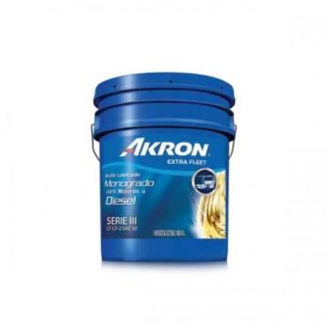ACEITE DE MOTOR AKRON FLEET API CF MONOGRADO DIESEL SAE 50