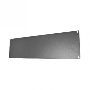 Tapa ciega para rack de 19 fabricada en aluminio 3 UR.
