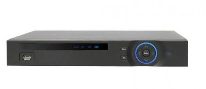 DVR 4 CH Tribrido HD-CVI, Analogico e IP