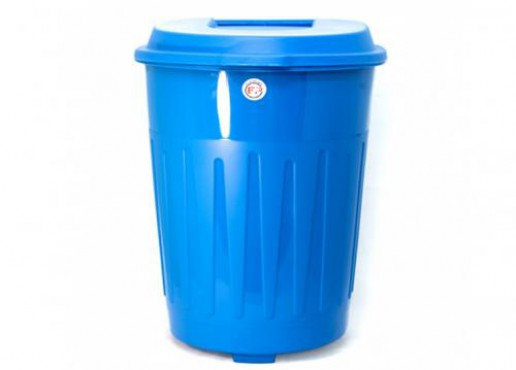 Bote para basura con ruedas, contenedor de 120 litros