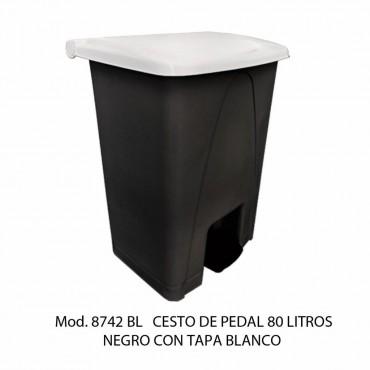 BOTE DE BASURA GRANDE CON PEDAL