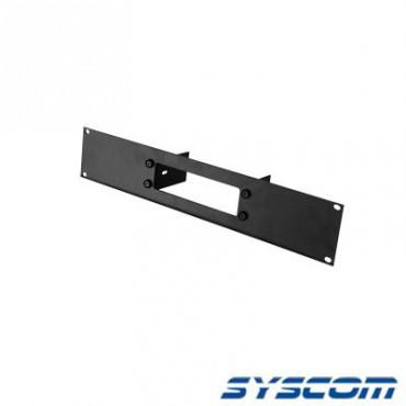 Tapa frontal de aluminio para radios TK7102/8102. Uso en rack estándar de 19.