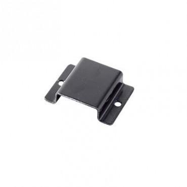 Bracket metálico para montar radio portátil.