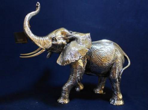 Elefante Africano con Base