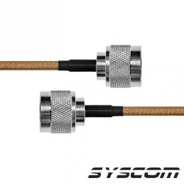 Cable RG142, con conectores N Macho / N Macho.